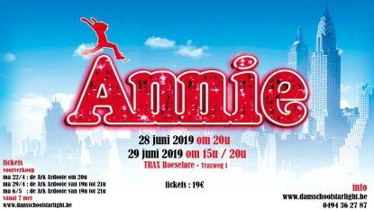 Dansschool Starlight doet Annie herleven