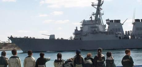 Bijna aanvaring tussen Amerikaans en Iraans schip