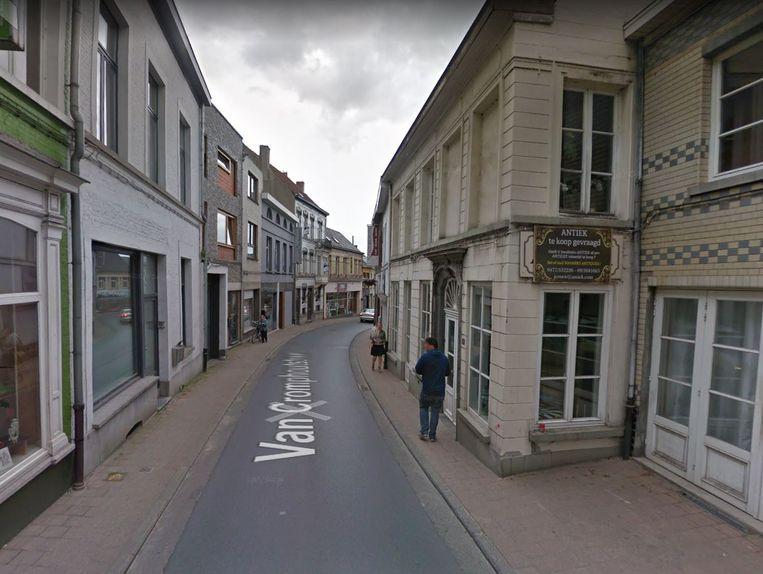 De Van Cromphoutstraat.