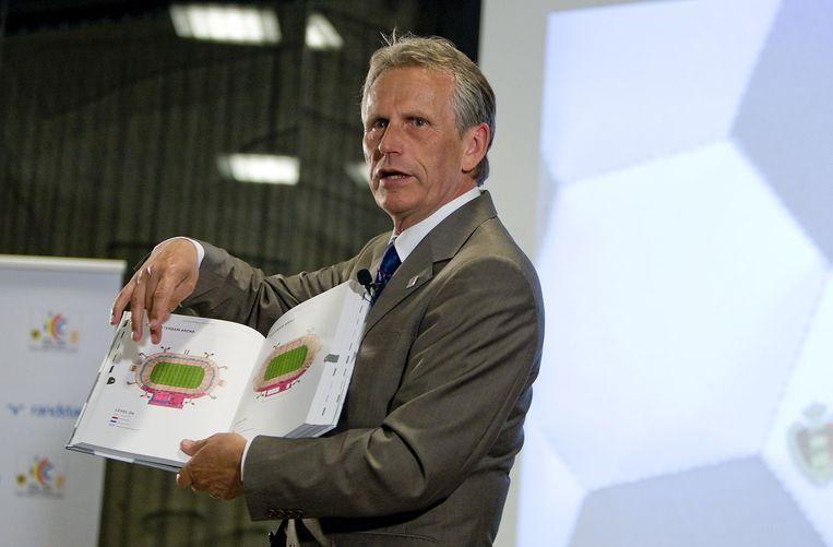 Harry Been, Nederlands grootste voorstander voor het WK in eigen land Beeld ANP