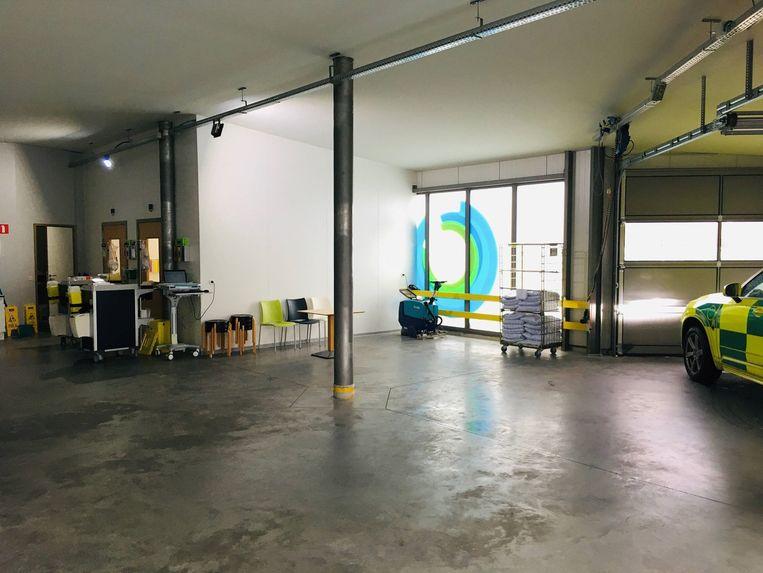 In het AZ Sint-Maria in Halle werden eerder al extra onderzoeksruimtes ingericht.