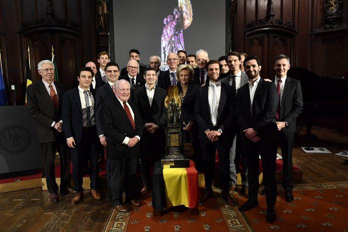 Champions du monde fin 2018, champions d'Europe en 2019, les Red Lions succèdent à Nina Derwael, lauréate du Mértie Sportif l'an dernier.