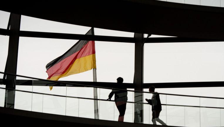 Beeld van de Reichstag in Berlijn, waar het parlement zetelt. Beeld epa