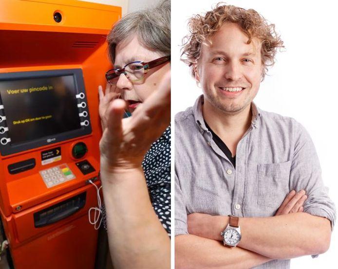 De sprekende geldautomaat bleek geen feest voor slechtziende Annie, las columnist Niels Herijgens.