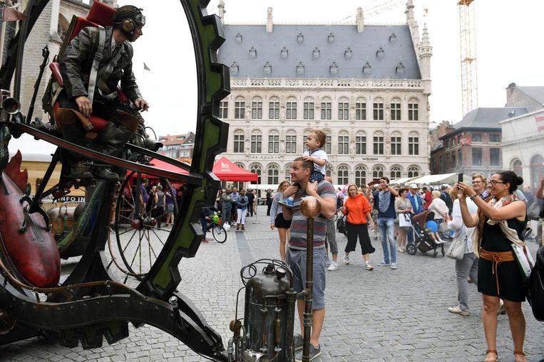 Kwaliteitsvolle animatie is het handelsmerk van De Langste Dag in Leuven.