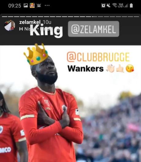 Antwerp distantieert zich van Instagram-post speler