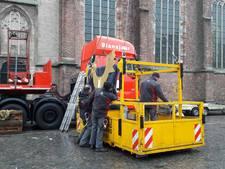 De haan is terug op de Martinitoren in Doesburg