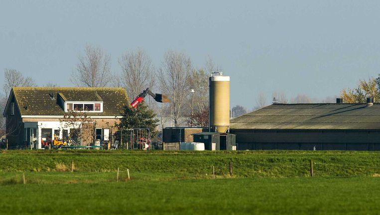 Op een pluimveebedrijf met 10.000 dieren in het Overijsselse Kamperveen is vogelgriep uitgebroken. Het is de derde uitbraak van de ziekte in Nederland. Beeld anp
