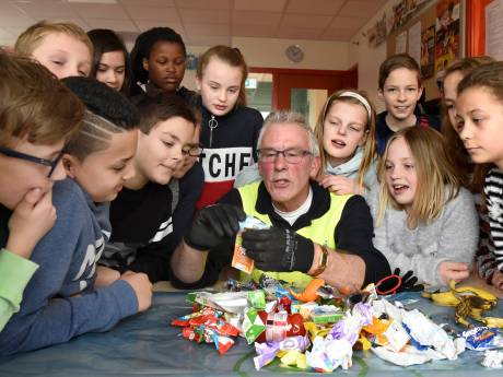 Leerlingen in Kaag en Braassem gaan afvalbattle aan