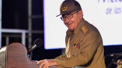 Raul Castro haalt uit naar Amerikaanse regering op herdenkingsdag Cubaanse revolutie