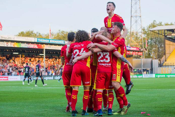GA Eagles had wel wat te vieren tegen Jong FC Utrecht, maar de waarde van de overwinning?