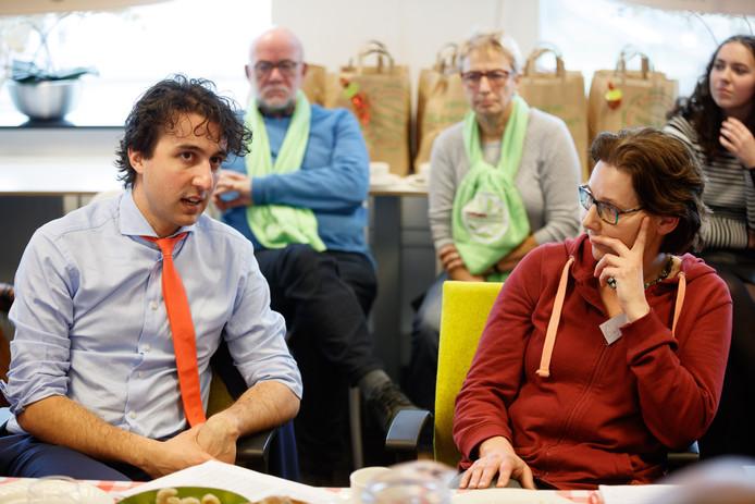 Etten-leur - 23-2-2017 - Foto: Marcel Otterspeer / pix4profs - Lezersbijeenkomst op de redactie van BN DeStem in aanloop naar de verkiezingen. Vandaag Groenlinks-lijsttrekker Jesse Klaver.
