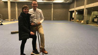 Fuifzaal wordt nu ook sportzaal: sportvloer maakt dubbel gebruik van zaal mogelijk