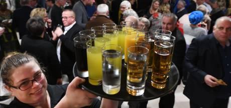 Drank op stadhuis is niet altijd geregeld