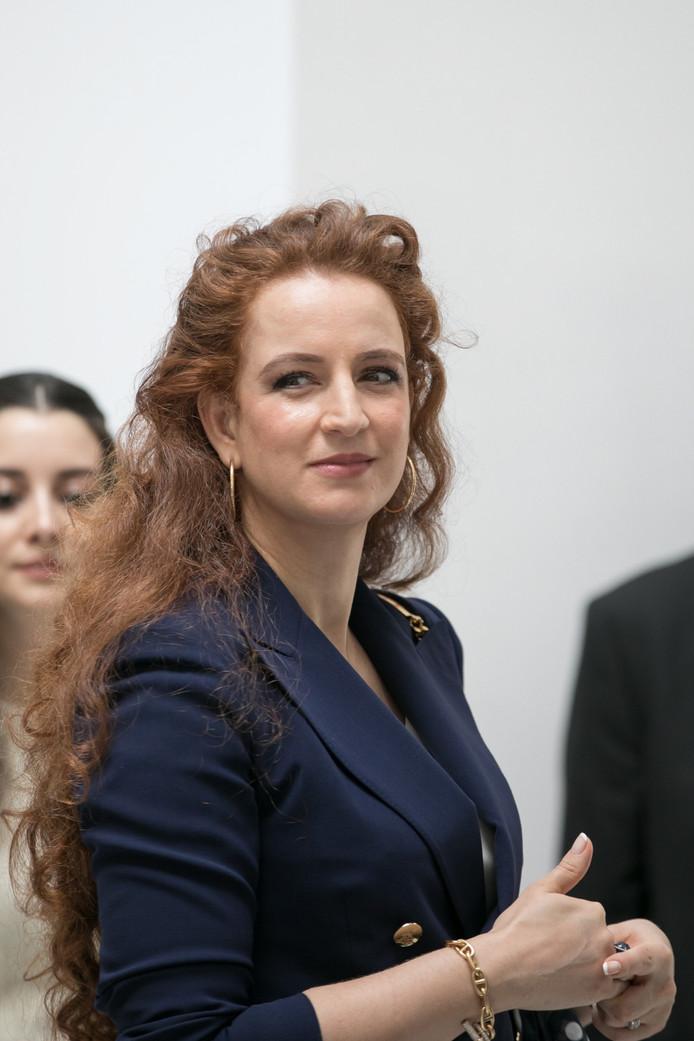 Lalla Salma in juni 2017.