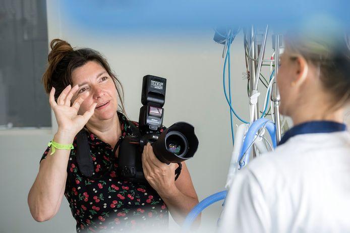 Maria van der Heyden is medisch fotograaf bij het ETZ.