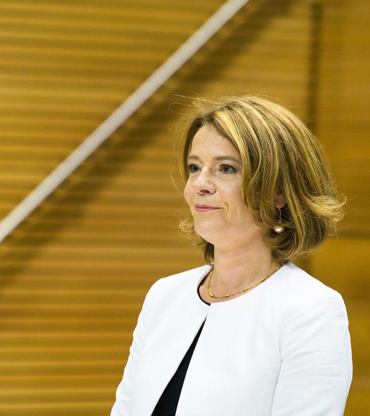 Merel van Vroonhoven, voorzitter Autoriteit Financiële Markten. Beeld null