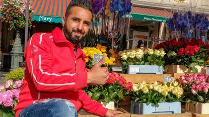 Grote Markt heeft opnieuw bloemenverkoper