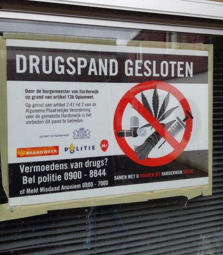 Drugspand in Heerde voor drie maanden op slot