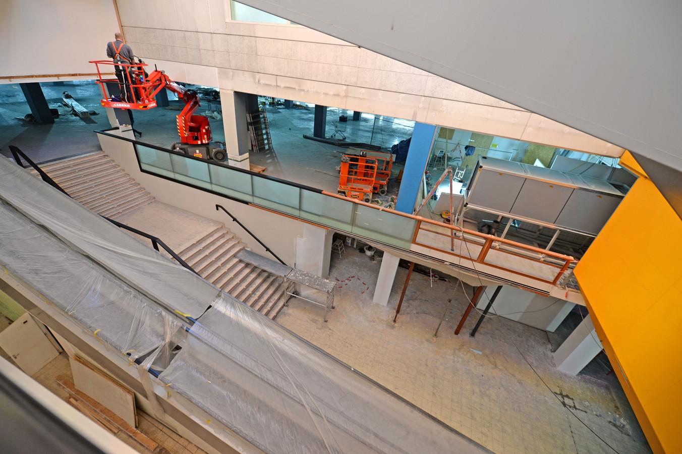 Winkelcentrum Koningsplein wordt klaargestoomd voor de vestiging van Decathlon.