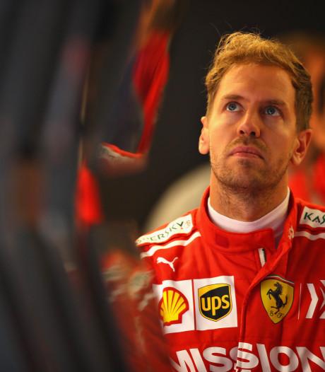 Gridstraf voor Vettel in Austin