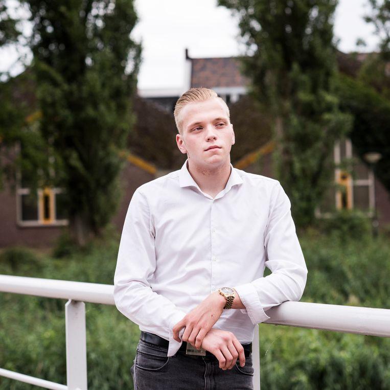 Nicky van Grinsven: 'Op het politiebureau zat er nog bloed op mijn kleren en mijn schoenen.' Beeld Linelle Deunk