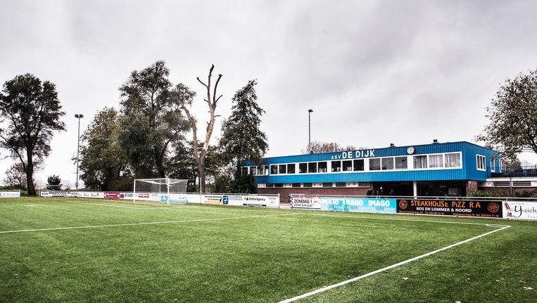 Sportpark Schellingswoude in Amsterdam-Noord. Beeld null