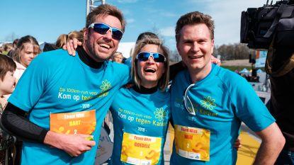 IN BEELD: 100km-run voor Kom op tegen Kanker levert ruim 1,4 miljoen euro op