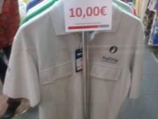 À vendre au Portugal: un polo de la police belge pour 10 euros