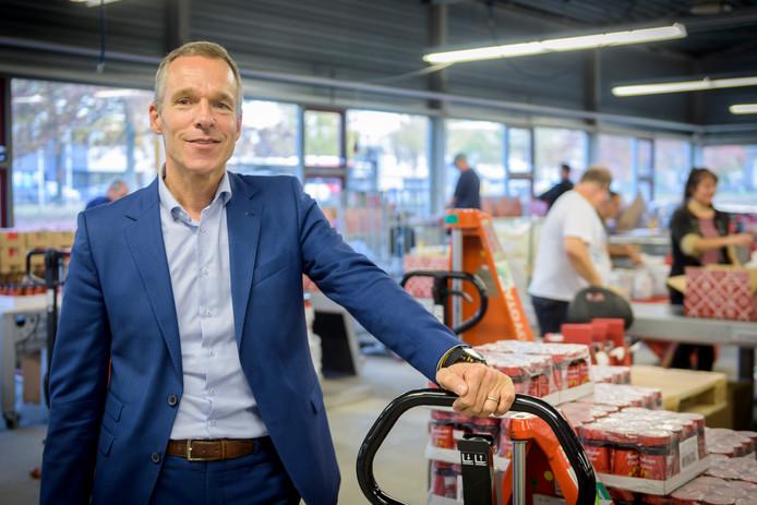 BLADEL - Beoogd directeur Francois Baudoin op de werkvloer bij WVK-groep.