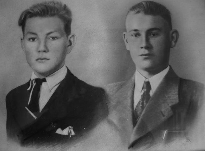 Piet (links) en Jan Meuwsen.