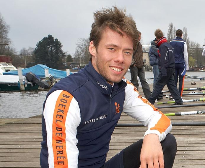 Roeier Roeland Lievens.