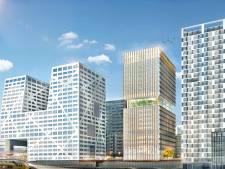 Hoogbouw in de stad: 'Klein Manhattan aan het spoor'