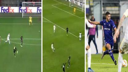 Heerlijk vluchtschot Emond, de combinerende Genkse klasse en flitsende Bakkali: Belgische clubs lieten fraaie treffers zien in Europa League