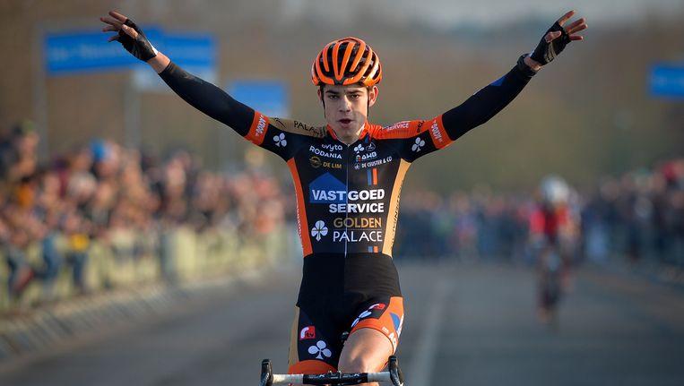 Wout van Aert kon vorige week in Eeklo nog eens winnen, sluit hij zondag in Oostmalle af in schoonheid?