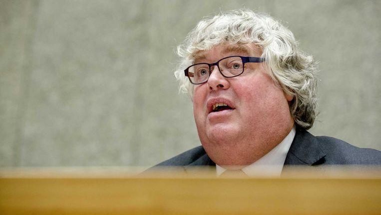 VVD-Kamerlid Ton Elias in de Tweede Kamer. Beeld anp