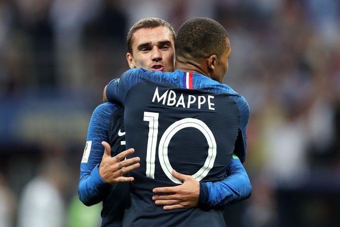 Antoine Griezmann en Kylian Mbappe zijn genomineerd voor de titel 'Beste speler van het jaar'.