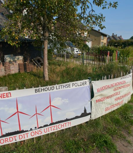 Verzet naar climax: betoging, petitie en vijfde actiegroep tegen windmolens in Lithse polder
