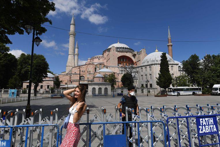 De Hagia Sophia in Istanboel. Beeld AFP