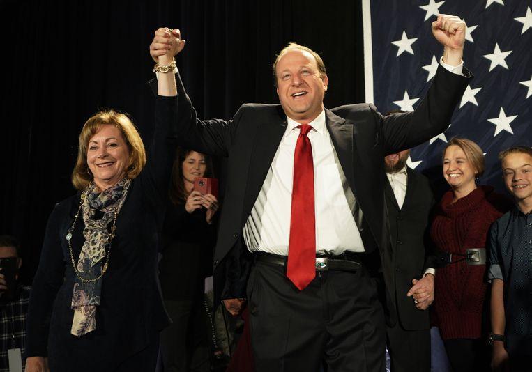 Jared Polis is tot eerste eerste openlijk homoseksuele gouverneur verkozen.