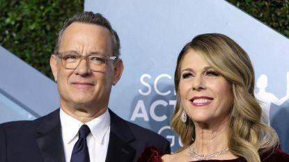 """Tom Hanks geeft update over besmetting met corona: """"Jullie steun geeft ons kracht"""""""