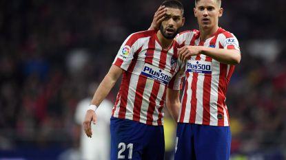Atlético heeft aan één doelpunt genoeg tegen Granada, Carrasco valt in