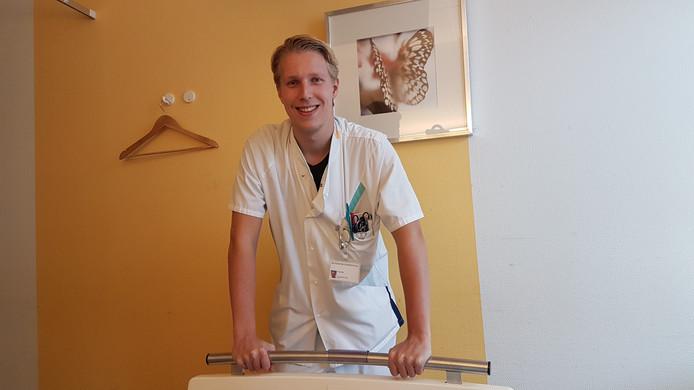 Verpleegkundige en blogger Frank van Eis (22)