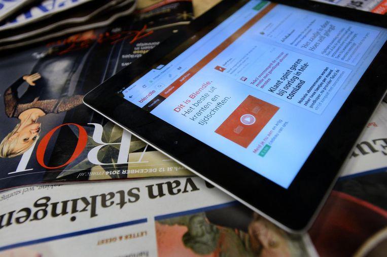 Bij Blendle koop je nu nog artikelen uit kranten en tijdschriften per stuk. Beeld ANP