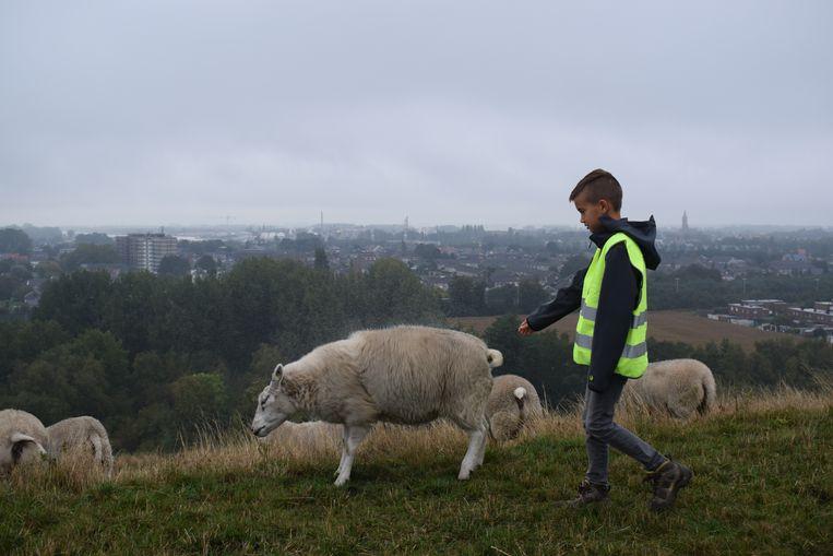 De bezoekers konden bovenop de Zonneberg ook kennismaken met de lokale bewoners.