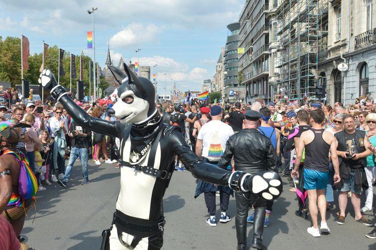 Op de Antwerp Pride 2018 waren weer heel wat originele en extravagante deelnemers te spotten.