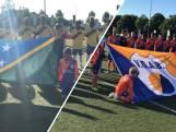 Voetbalfeest in Brabant: Solomoneilanden op bezoek bij amateurs van VOAB