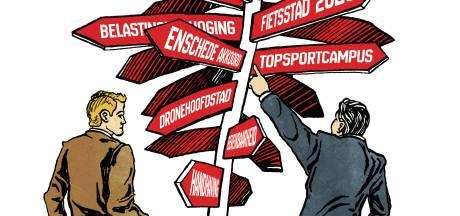 Enschede in zwaar weer: forse en pijnlijke bezuinigingen onvermijdelijk