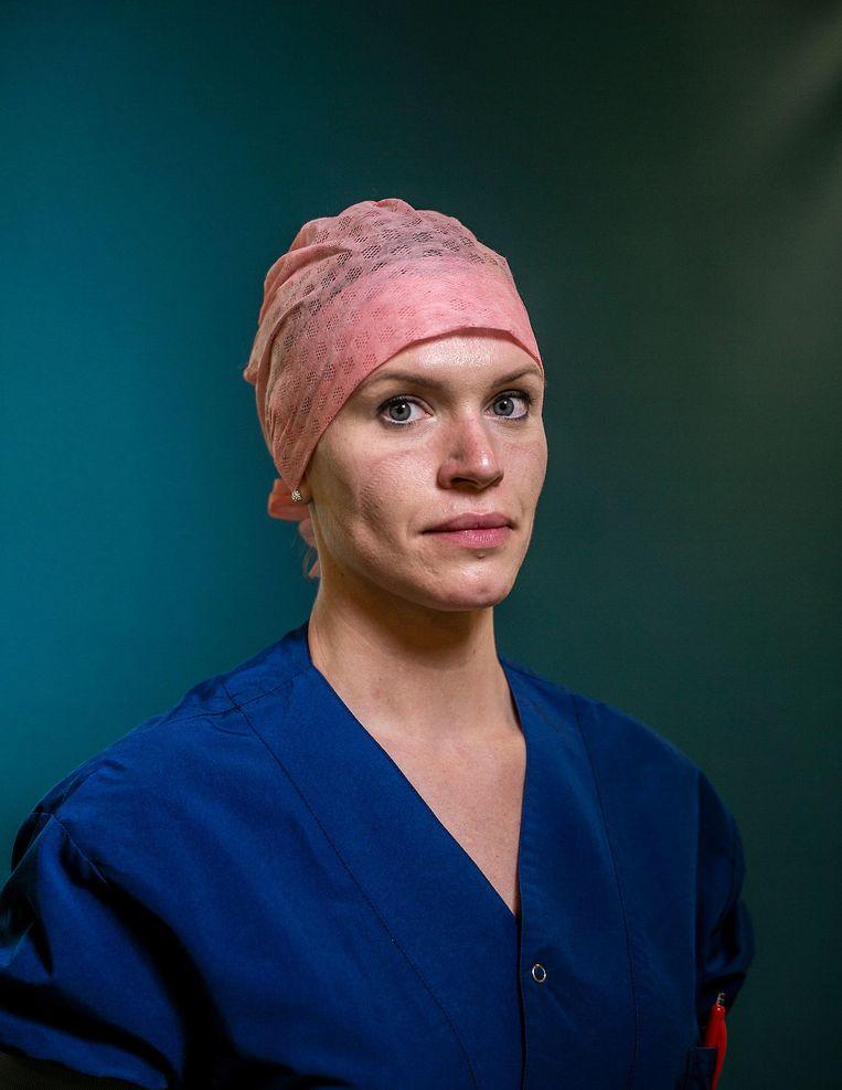 Lisa Kreemer (32), anesthesieverpleegkundige Bernhoven. Beeld  Jiri Büller