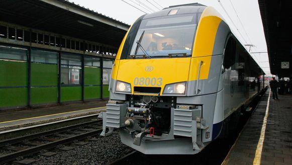 Een Desiro-treinstel van de NMBS.